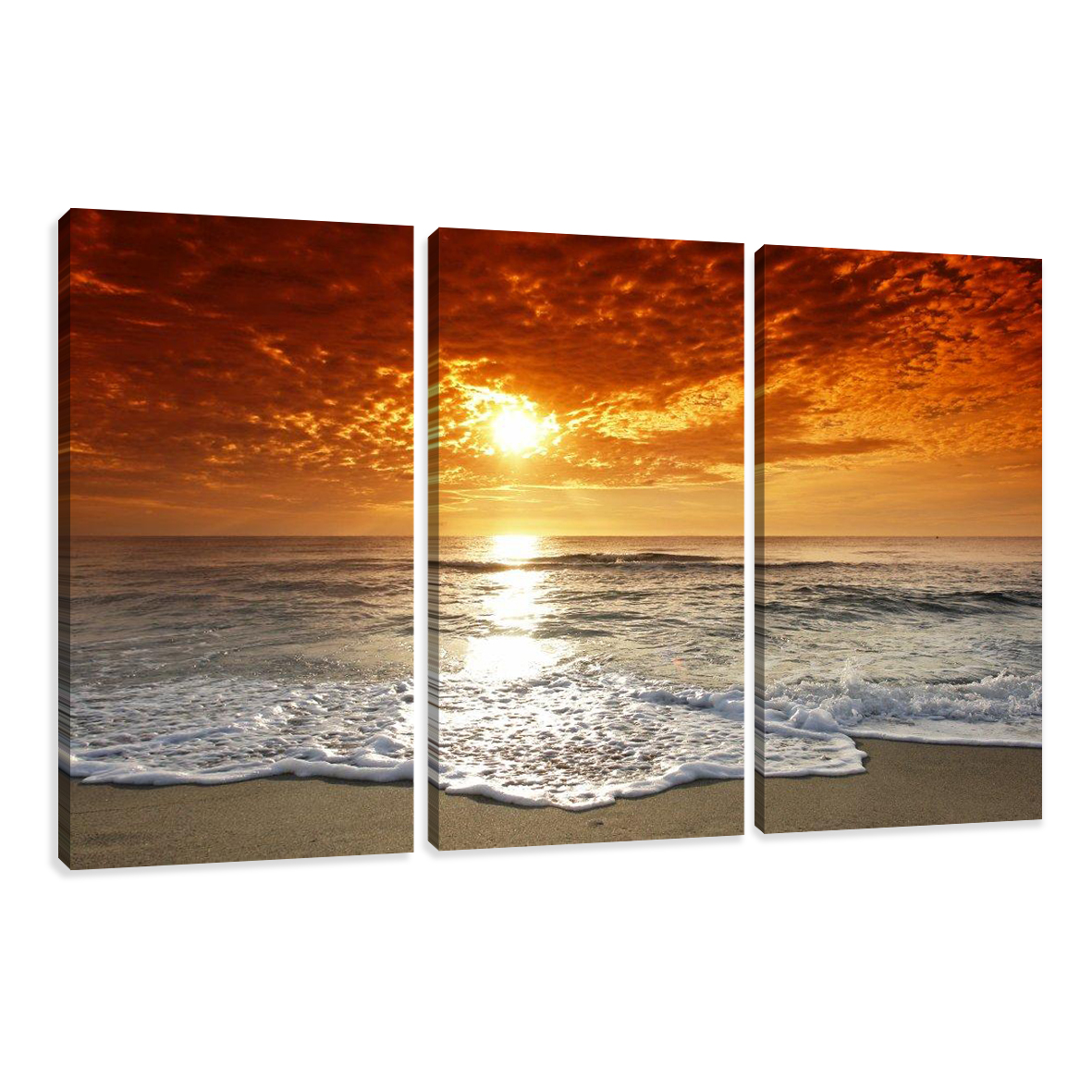 leinwand wandbilder verschiedene bilder motive 160 x 90 cm dreiteilig c1 ebay. Black Bedroom Furniture Sets. Home Design Ideas