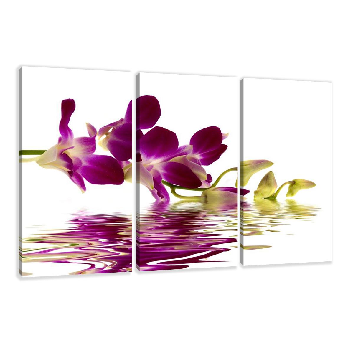 impression sur toile differents motives 160 x 90 cm 3 parts fr1 1571 ebay. Black Bedroom Furniture Sets. Home Design Ideas
