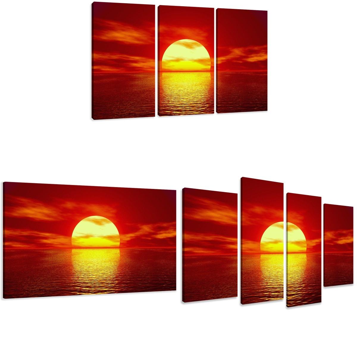 leinwand wandbilder bild sonnenuntergang verschiedene. Black Bedroom Furniture Sets. Home Design Ideas