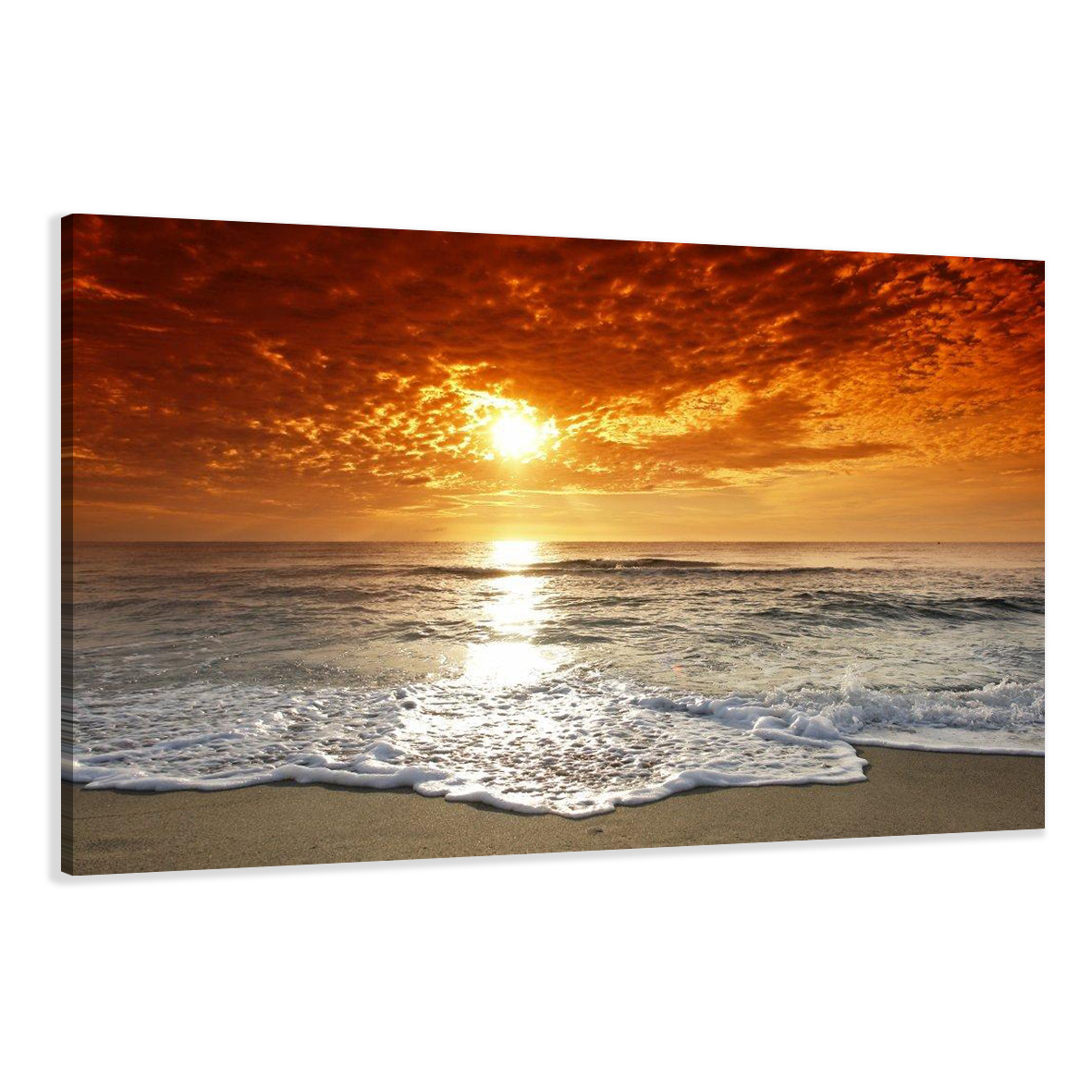 leinwand wandbilder bild strand meer verschiedene gr en kunstdruck 1505 c1 ebay. Black Bedroom Furniture Sets. Home Design Ideas