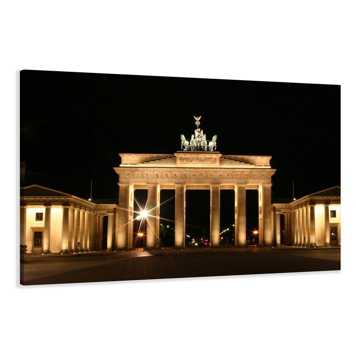 bild marken bilder leinwand auf rahmen berlin 120x80cm xxl 5018 ebay. Black Bedroom Furniture Sets. Home Design Ideas