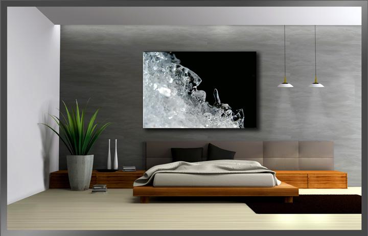 Schwarz wei fertig gerahmt bild 120x80cm xxl 5068 ebay - Pinturas para salones modernos ...