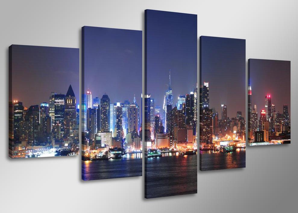 new york skyline bild 1 6 meter 5505 in thayngen. Black Bedroom Furniture Sets. Home Design Ideas