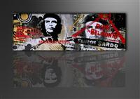 Leinwand Bild fert gerahmt Che Guevara 120cm XXL 1 5707