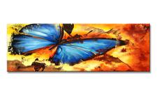 Leinwand Bild fert. gerahmt Schmetterling 120x40 cm XXL 5708