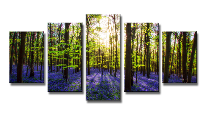 Tableau d co moderne for t arbres fleurs 5 partie image for Fenetre 200x100