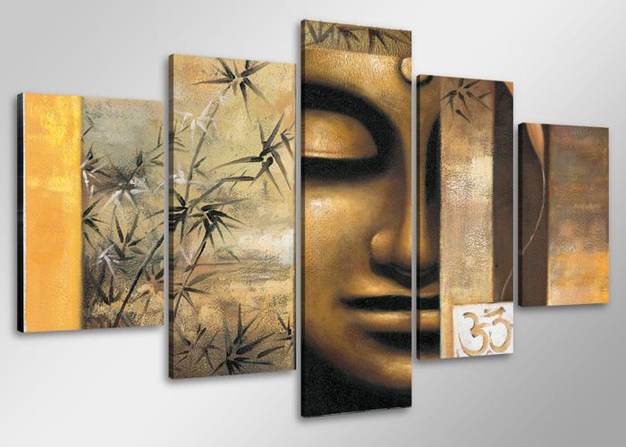 leinwand wandbilder bild buddha 2 verschiedene gr en kunstdruck 1528 d1. Black Bedroom Furniture Sets. Home Design Ideas