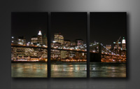 "Pictures on canvas length length 63"" height 35"" Nr 1008 New York"