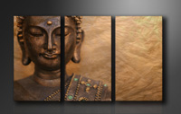 "Pictures on canvas length length 63"" height 35"" Nr 1041 buddha"