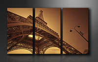 "Pictures on canvas length length 63"" height 35"" Nr 1048 Paris"