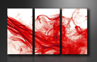 "Pictures on canvas length length 63"" height 35"" Nr 1120 smoke"