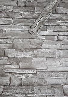Deko  Folie selbstklebend Schiefer grau 3017