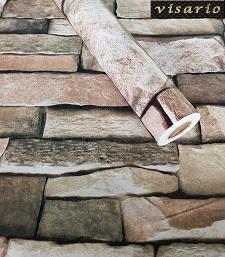 Deko  Folie selbstklebend Steine Mauer Ziegel grau 3034