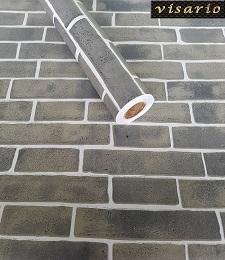 Deko  Folie selbstklebend Steine Mauer Ziegel grau 3036