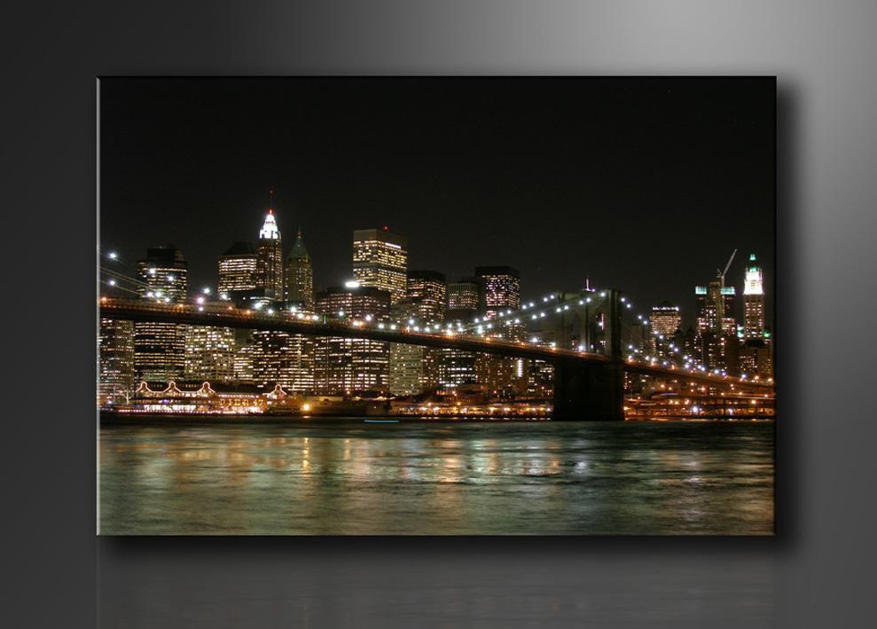 Leinwand Bilder fert gerahmt New York 80cm XXL 3 4008