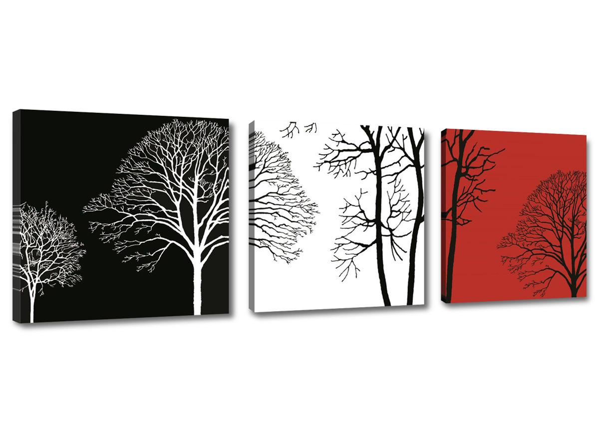 bilder wandbilder auf rahmen gespannt marke visario 150x50 dreiteilig 1575 d2 ebay. Black Bedroom Furniture Sets. Home Design Ideas