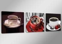 Leinwand Bild fert gerahmt Kaffee 150cm XXL 3 4220