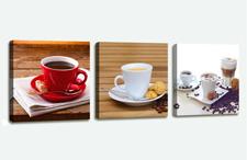 Leinwand Bild fert gerahmt Kaffee Coffee 150 x 50 cm XXL 3 4222