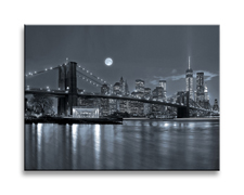 Leinwand Bild fert gerahmt New York 40cm XXL 1 4303