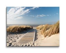 Leinwand Bild fert gerahmt Strand 40cm XXL 1 4305