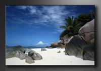 Strand Bilder fertig gerahmt Bild 120x80cm XXL 5005