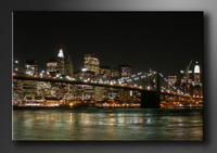 New York Bilder fertig gerahmt Bild 120x80cm XXL 5008