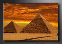 Agypten Bilder fertig gerahmt Bild 120x80cm XXL 5013