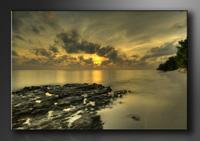 Strand Bilder fertig gerahmt Bild 120x80cm XXL 5021