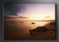 Strand Bilder fertig gerahmt Bild 120x80cm XXL 5023