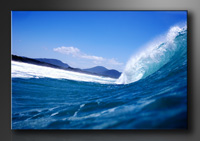 Strand Bilder fertig gerahmt Bild 120x80cm XXL 5027