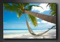 Strand Bilder fertig gerahmt Bild 120x80cm XXL 5039