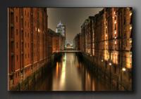 Hamburg Bilder fertig gerahmt Bild 120x80cm XXL 5051