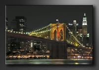 New York Bilder fertig gerahmt Bild 120x80cm XXL 5055