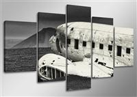 "Pictures on canvas length length 63"" height 31"" Nr 5501 aircraft"