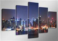 "Pictures on canvas length length 63"" height 31"" Nr 5505 New York"