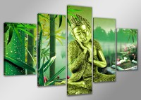 "Pictures on canvas length length 63"" height 31"" Nr 5521 Buddha"