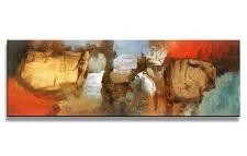 Leinwand Bild fert gerahmt abstrakt 120cm XXL 1 5726