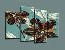 Leinwand Bild fert gerahmt Blumen 130 x 80 cm  6001