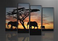 Leinwand Bild fert gerahmt Afrika 130cm XXL 4 6066