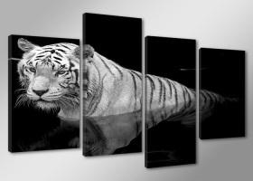 Leinwand Bild fert gerahmt tiger 130cm XXL 4 6176