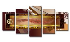 Leinwand Bild fert gerahmt abstrakte Formen 200cm XXL 5 6318