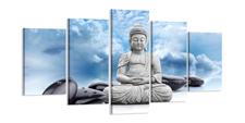 Leinwand Bild fert gerahmt Buddha 200cm XXL 5 6323