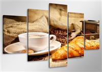 Leinwand Bild fert gerahmt Kaffee 100cm XXL 5 6401