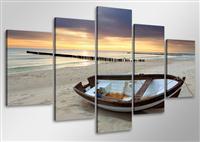 Leinwand Bild fert gerahmt Strand 100cm XXL 5 6403