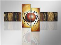 "Pictures on canvas length length 77"" height 31"" Nr 6806 abstract"