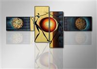 "Pictures on canvas length length 77"" height 31"" Nr 6807 abstract"